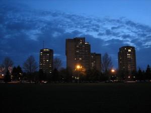 Hofstra skyline