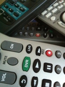 Remotely controlling the remote control. Photo by Wendy David-Gaines