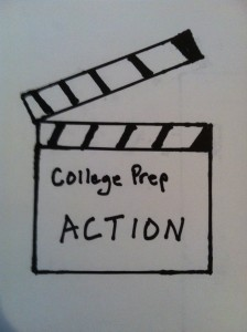 Take College prep action. Photo by Wendy David-Gaines