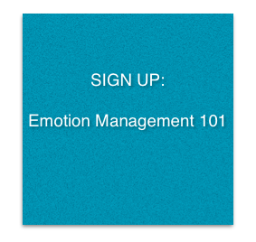 Emotion management 101. Photo by Wendy David-Gaines