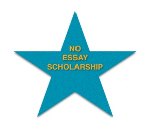No essay scholarship means no excuses! Photo by Wendy David-Gaines