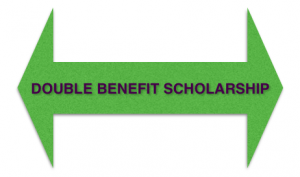 Double benefit scholarship opportunity. Photo by Wendy David-Gaines.