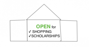 Department stores can sponsor scholarships. Photo by Wendy David-Gaines