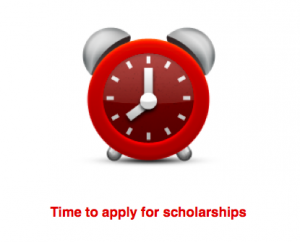 Time to apply for college scholarships. Photo by Wendy David-Gaines