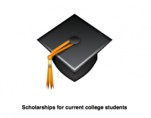 Scholarships for current college students. Photo by Wendy David-Gaines